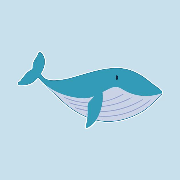 Cute Blue Whale for Kids