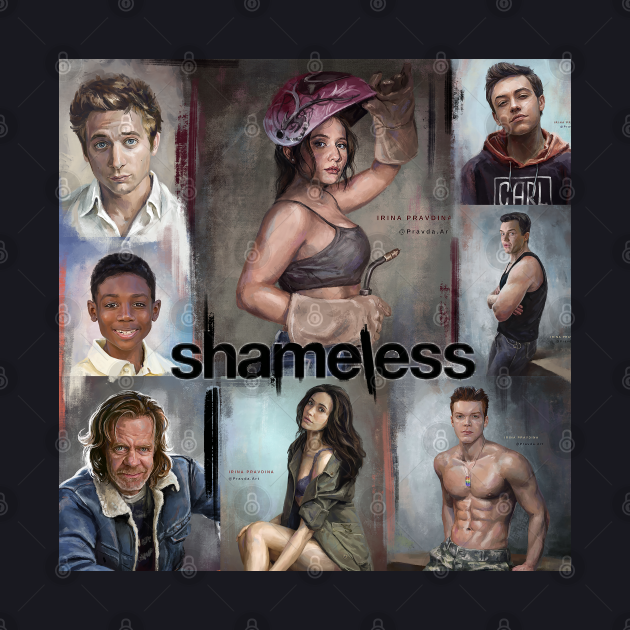 Shameless artwork collage