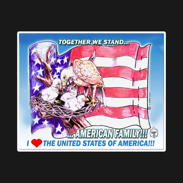 AMERICA FAMILY - TOGETHER WE STAND!