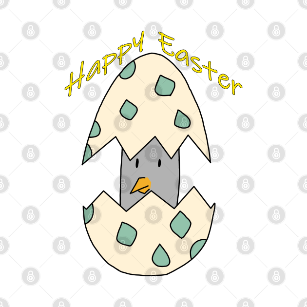 Happy Easter pigeon