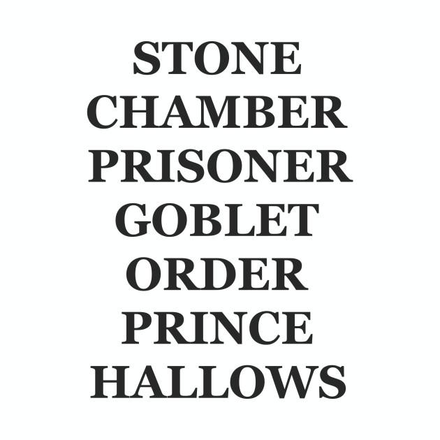 harry potter titles