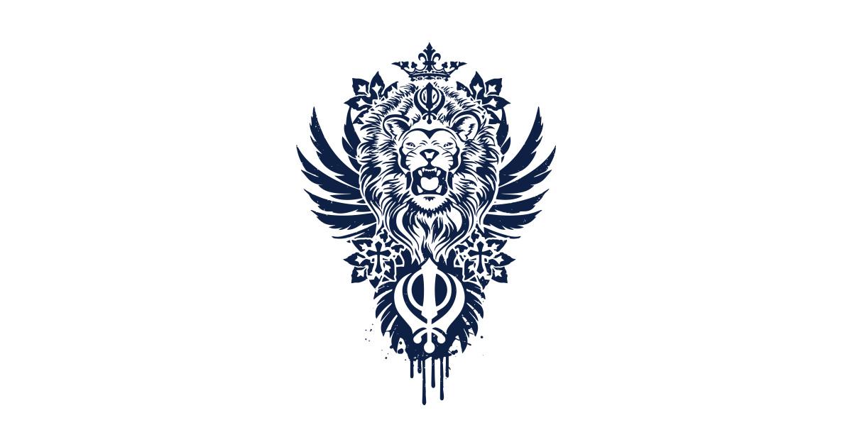 khanda lion - lion