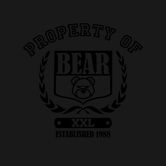 Property of Bear Athletic Gear