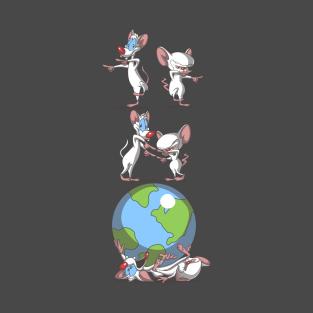 Pinky and the brain t shirts teepublic brain fusion t shirt altavistaventures Choice Image