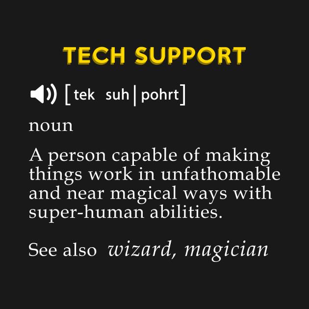 Tech support meaning - Expert - T-Shirt   TeePublic