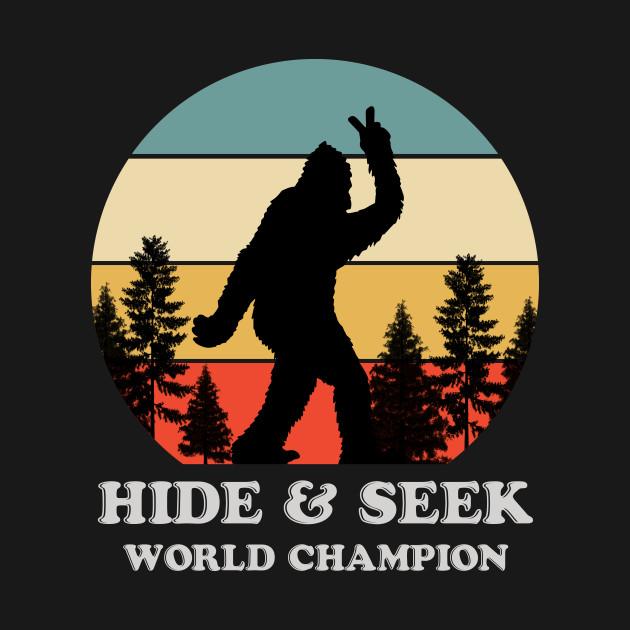 Retro Bigfoot Hide & Seek World Champion