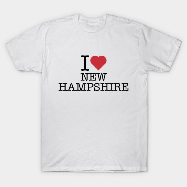 I Love Heart New Hampshire T-Shirt