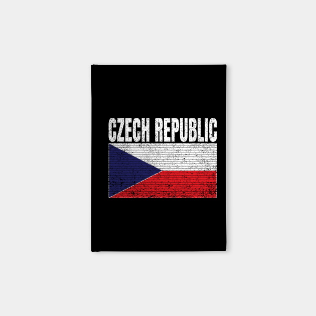 Czech Republic Country Flag Vintage Czech Gift