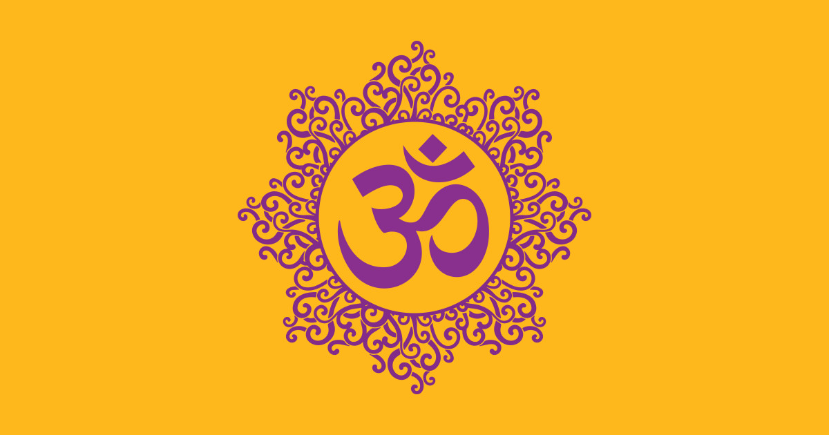 Om Hinduism Symbol by worldculturedesigns