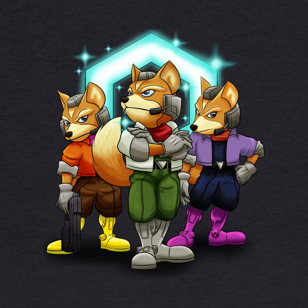 Fox Victory Pose T-Shirt