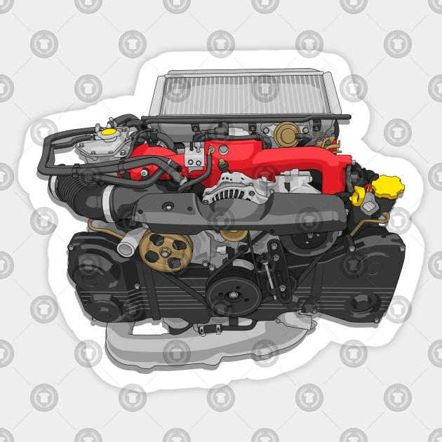 Subaru Generator Engine
