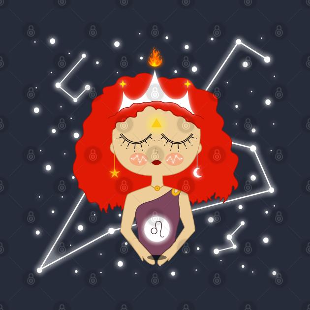 Leo Zodiac girl