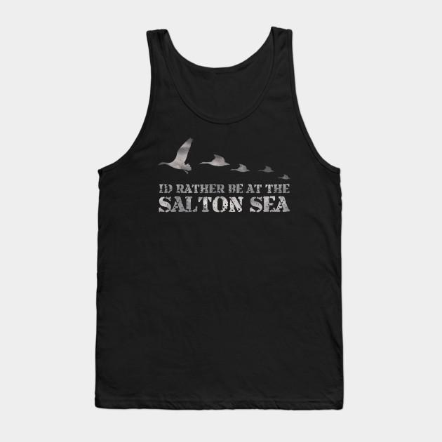 7c05ae49a Salton Sea Duck Hunting Shirt - Salton Sea - Tank Top | TeePublic