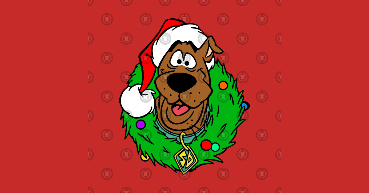 Scooby Doo Christmas.Scooby Doo Christmas Limited Edition By Popcultured