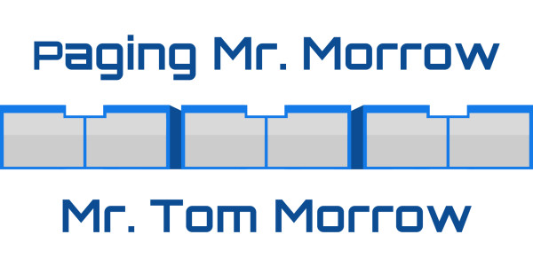 Image result for paging mr tom morrow