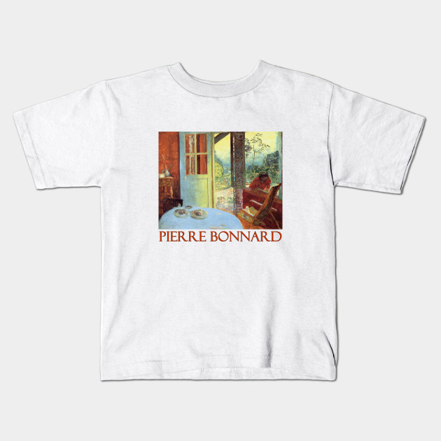 Dining Room In The Country By Pierre Bonnard Art Kids T Shirt