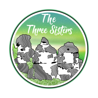 The Three Sisters t-shirts