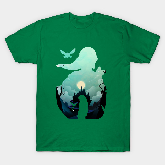 Zelda Silhouette Zelda Silhouette T Shirt Teepublic Au