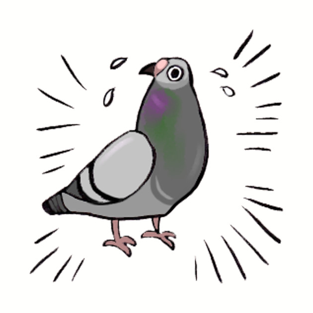Frantic Pigeon Friend