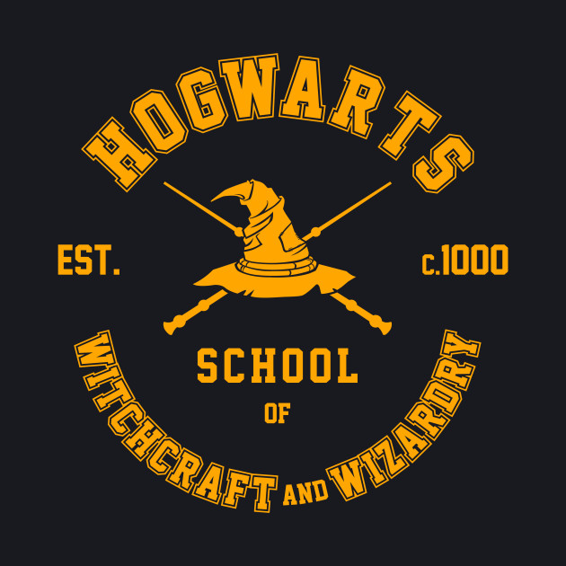 School of Witchcraft and Wizardry - Graduate Print