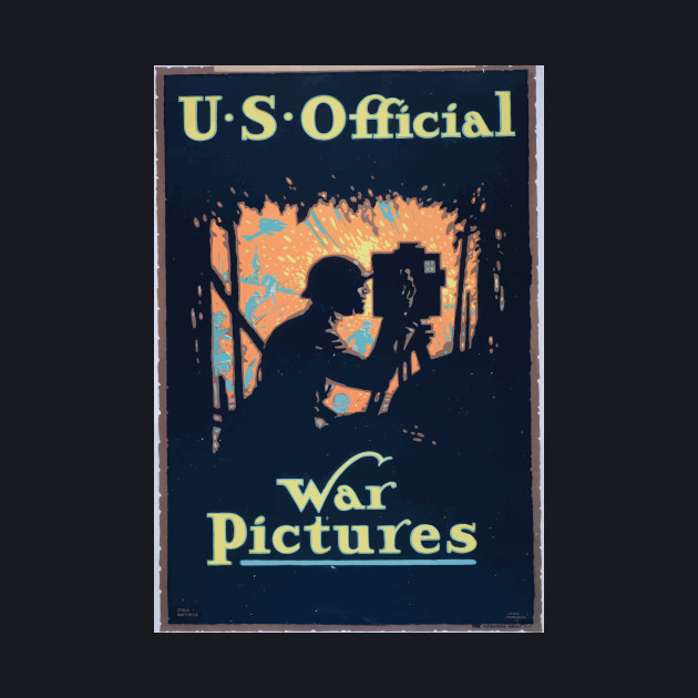 WWI Propaganda Poster 1607 US official war picture WW1