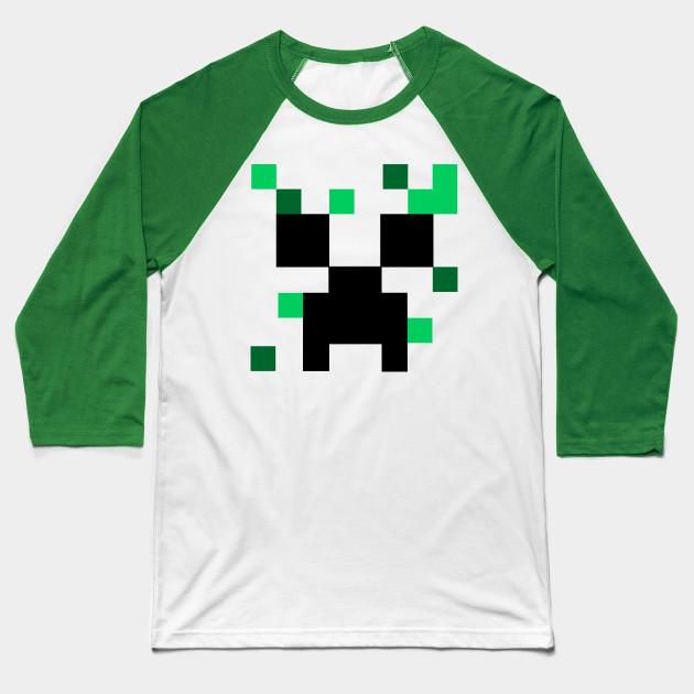 Minecraft Creeper Minecraft Baseball T Shirt Teepublic