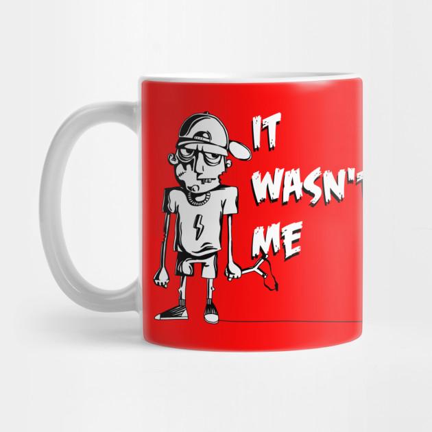 14edf8430 Funny cartoon t-shirt for all mischievous - Funny Cartoons - Mug ...