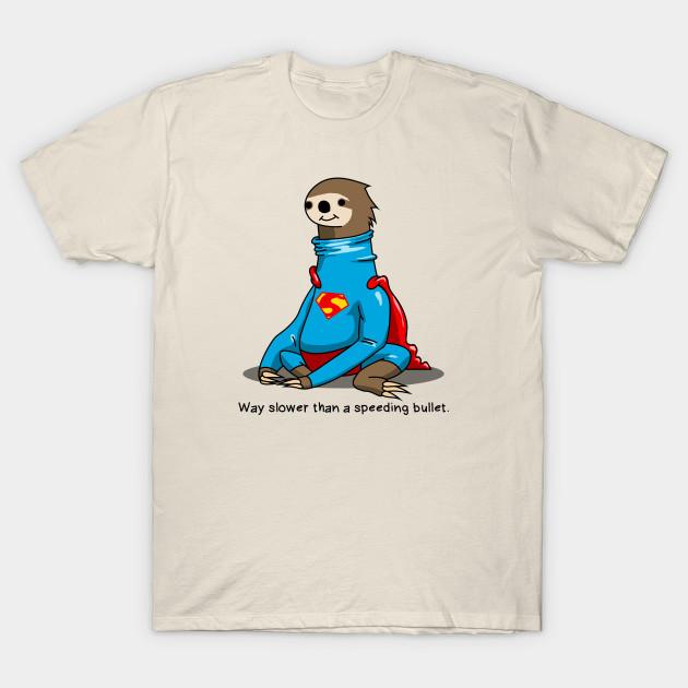 f8918b78 Sloth Man - Sloth - T-Shirt | TeePublic