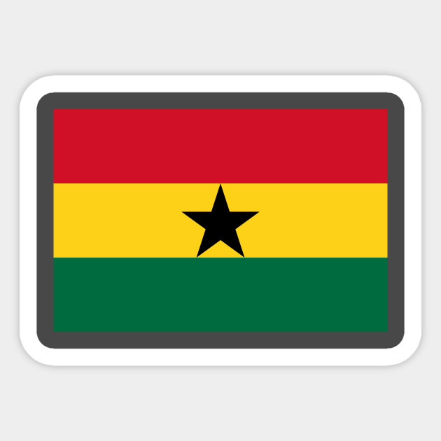 Flag Of Ghana Sticker