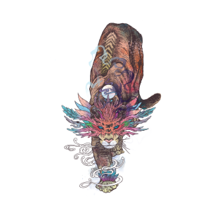 Journeying Spirit (Mountain Lion)