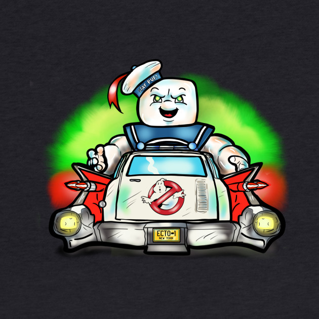 Its The Stay Puft Marshmallow Man!