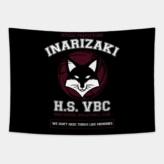 Inarizaki Team Haikyuu