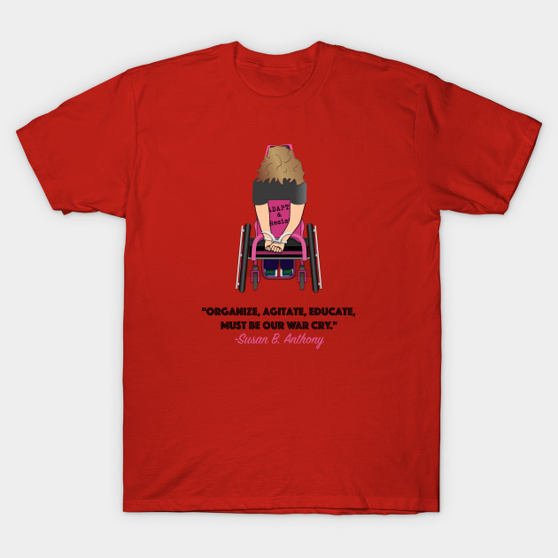 Disabled Resistance T-Shirt-TOZ