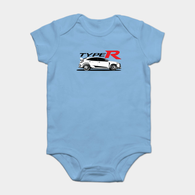 Honda Civic Typer Tees Car Onesie Teepublic