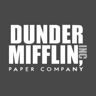 The Office Dunder Mifflin t-shirts
