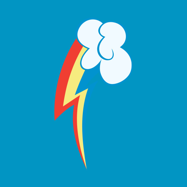 ... My little Pony - Rainbow Dash Cutie Mark