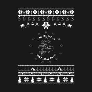 Merry Christmas Snake t-shirts