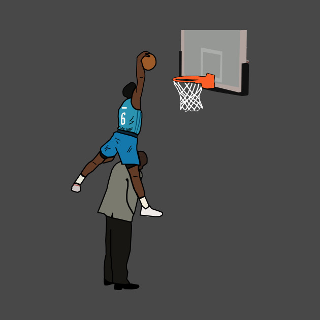 Hamidou Diallo NBA 2019 Slam Dunk Contest Jump Over SHAQ