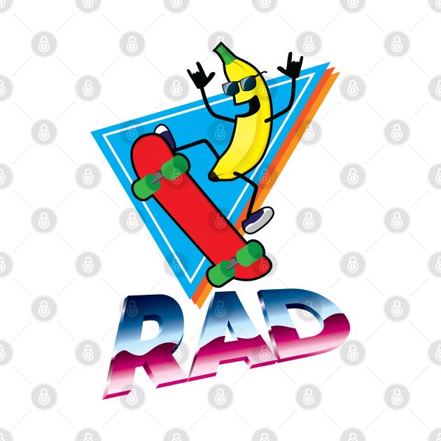 Rad Skater Banana