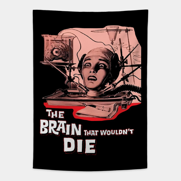 The Brain That Wouldn/'t Die 1962 Horror Movie Poster Black Unisex T-shirt