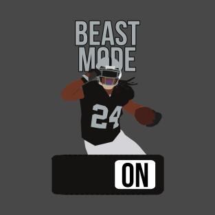b9fb91aef70 Marshawn Lynch - Beast Mode T-Shirt