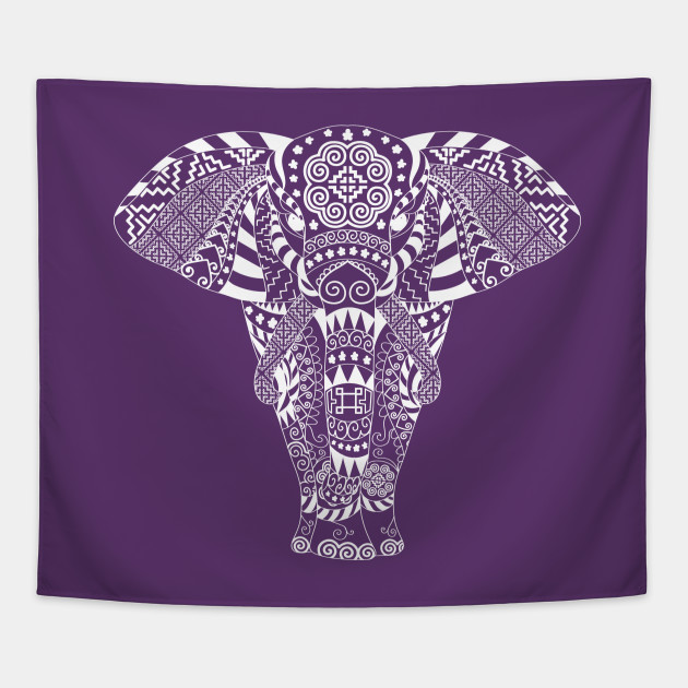 Hmoob Tribal Elephant (Dark Colored Tee)