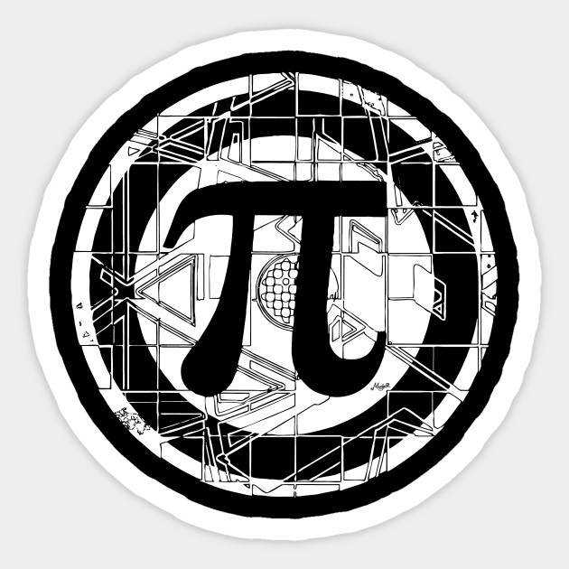 Ultimate Pi Day Symbol Math Class Sticker Teepublic