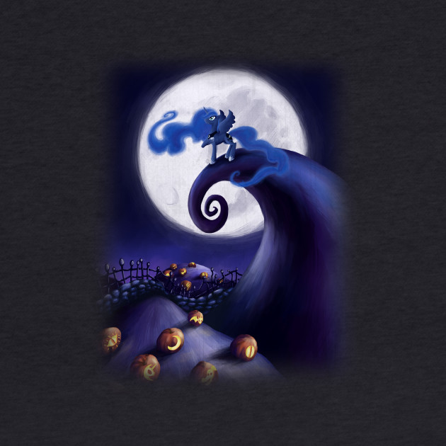 My Little Pony - Princess Luna - The Nightmare Before Christmas