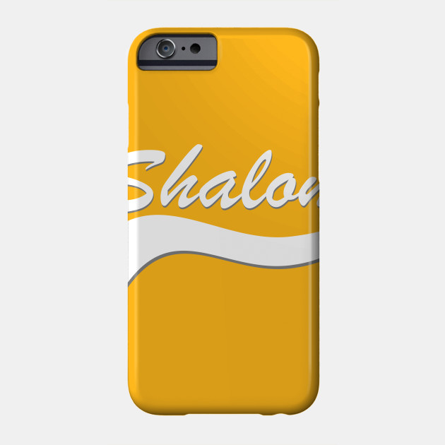 Shalom jewish greeting shirt jew phone case teepublic 890808 1 m4hsunfo