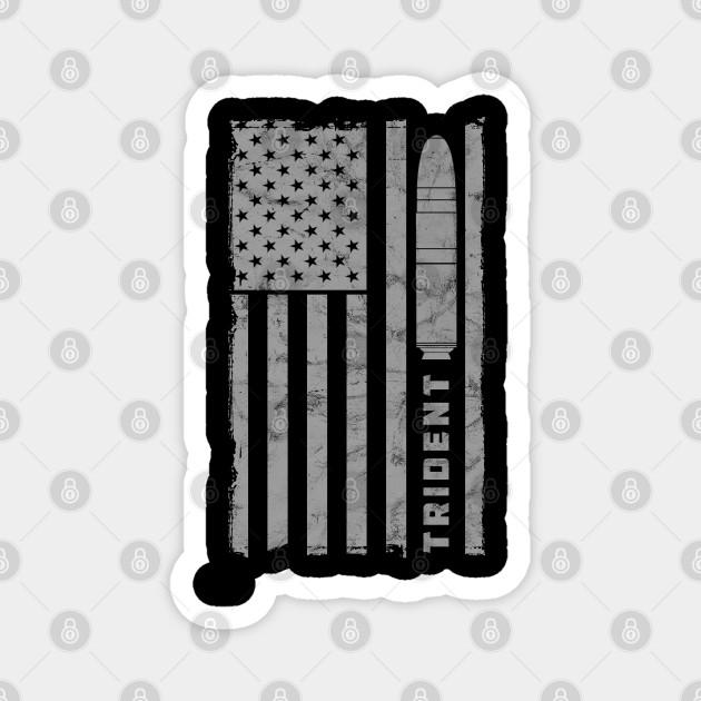 TRIDENT 1 SLBM VINTAGE FLAG