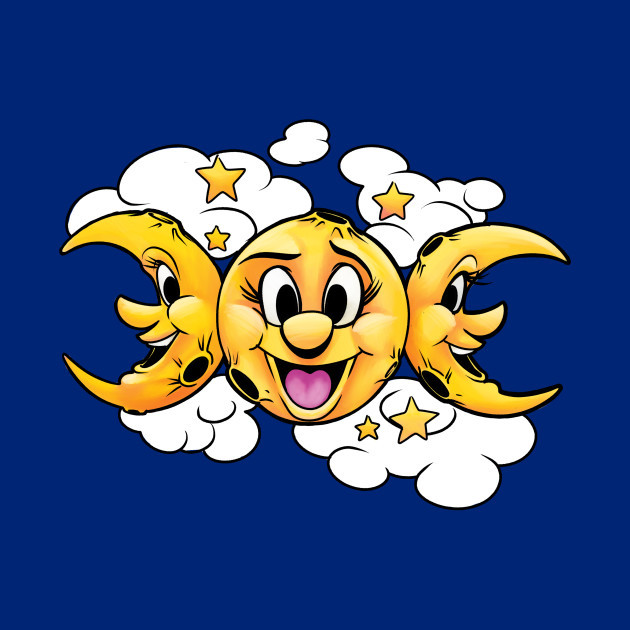 Triple moon symbol
