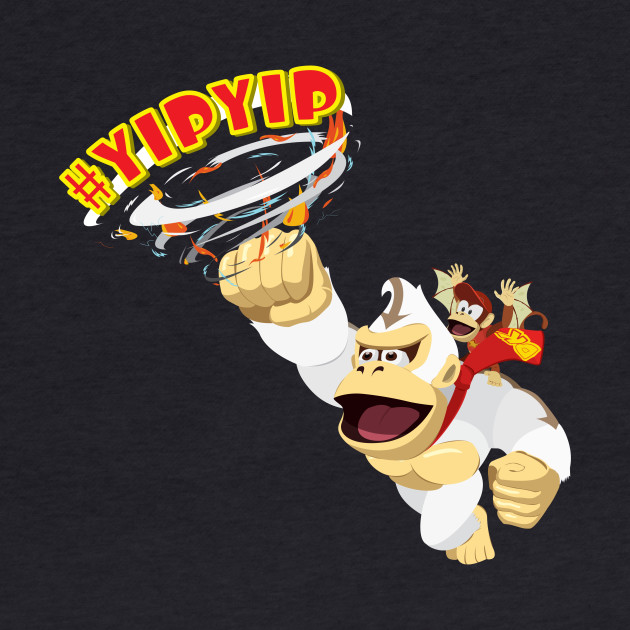 Donkey Kong The Last Airbender: #YIPYIP