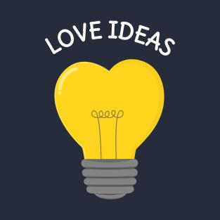 Love Lightbulb T-Shirt t-shirts