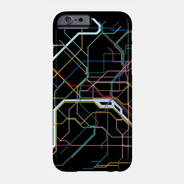 Subway Map Phone.Paris Subway Map